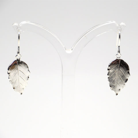 Silver Birch Drop Earrings