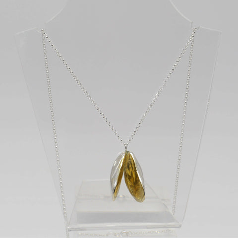 Bivalve Pendant Necklace