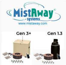 DIY MistAway Systems - Systems & Kits