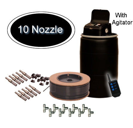 MistAway Gen 1.3 with Agitator 55 Gallon 10 Nozzle Kit