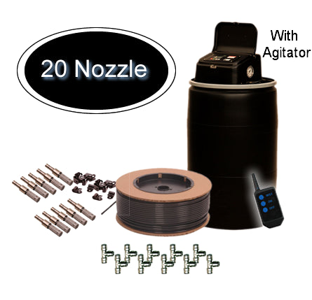MistAway Gen 1.3 with Agitator 55 Gallon 20 Nozzle Kit