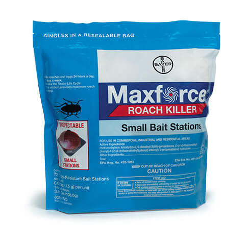 Maxforce FC Roach Bait Stations - Bag 72