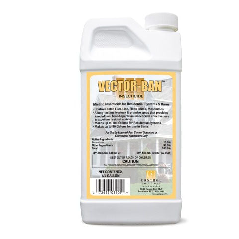 Vector Ban Mosquito Misting Concentrate - 1/2 gal