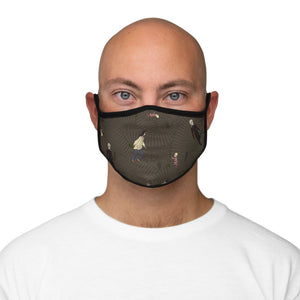 Labyrinth Fitted Polyester FaceMask