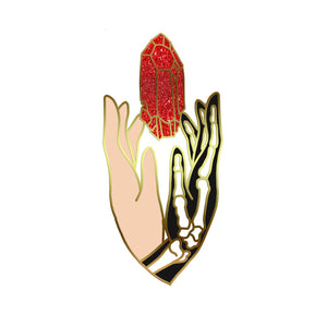 "Preorder - ""A Year at Hogwarts"" - V3 with Glitter- Harry Potter book 1 inspired enamel pin, the Sorceror's Stone"