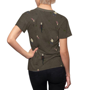 """Underground "" Labyrinth inspired Women's AOP Cut & Sew Tee"
