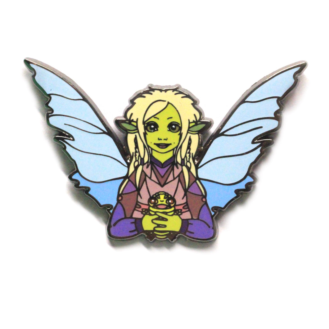 Dark Crystal inspired, Deet gelfing hard enamel pin