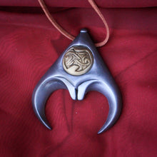 Labyrinth inspired, Jareth cosplay, cold cast resin necklace