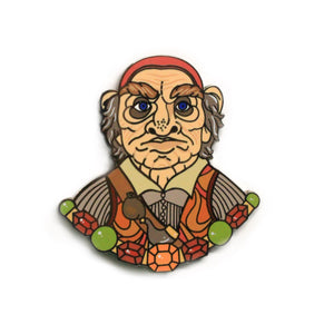 Hoggle hard enamel Labyrinth pin