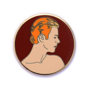 David Bowie, The Man Who Fell to Earth hard enamel pin
