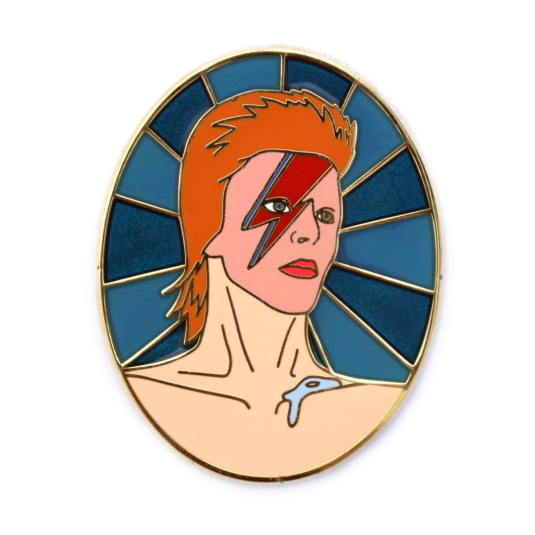 David Bowie, A Lad Insane hard enamel pin