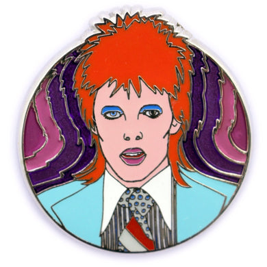 David Bowie, Life on Mars hard enamel pin