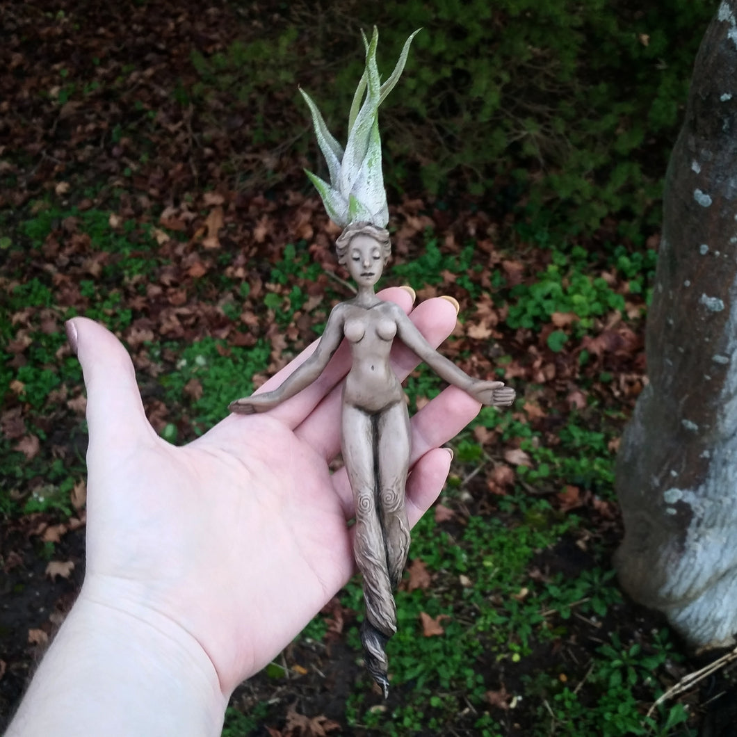 Handmade Mandrake Root Art Doll