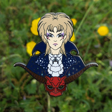 """It's only Forever"" Masquerade Jareth Hard Enamel Labyrinth Pin"