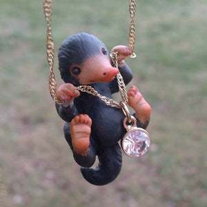 Fantastic Beasts and Where to find them inspired Niffler necklace