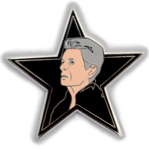 David Bowie, Blackstar hard enamel pin