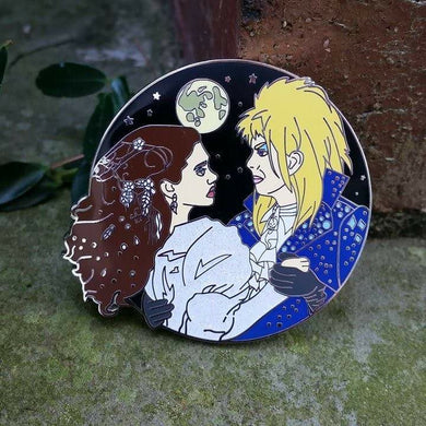 David Bowie,Labyrinth hard enamel pin