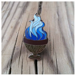 """A Year at Hogwarts"" - Harry Potter book 4 inspired enamel pin, the Goblet of Fire"