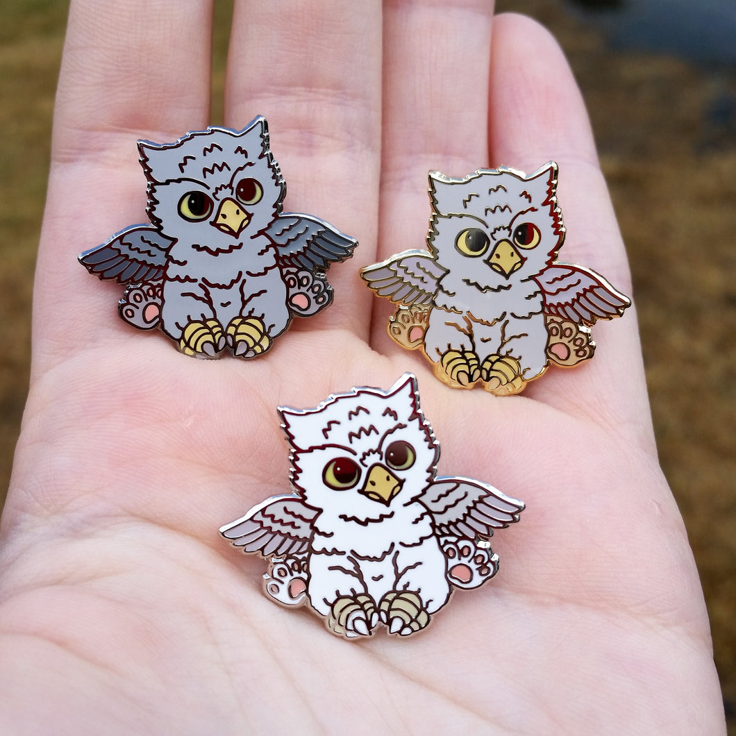 Baby Griffin Enamel Pins