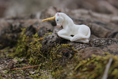 Handmade Resin Unicorn pin