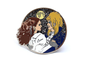 David Bowie Labyrinth pin, version 2