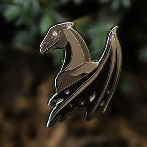 """A Year at Hogwarts"" - Harry Potter book 5 inspired enamel pin, the Thestral"