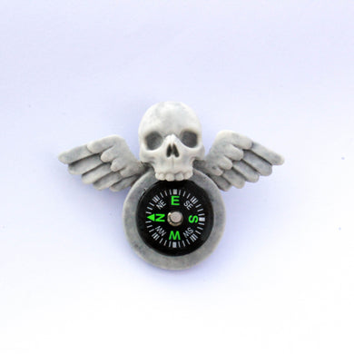 Handmade Resin Ghost Hunter's Pin Badge