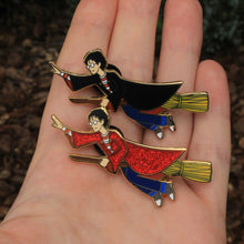 Harry Potter inspired, The Boy Wizard enamel pin