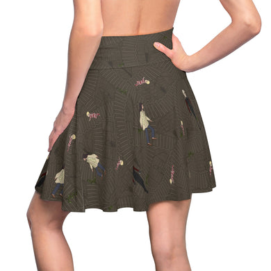 """Underground"" Labyrinth inspired Women's Skater Skirt"