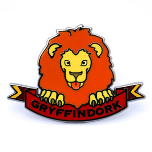 "House Pins ""Gryffindork"" Hard Enamel Pin"