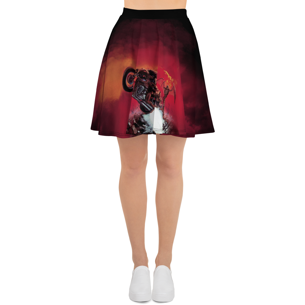 Bat out of Hell Skater Skirt