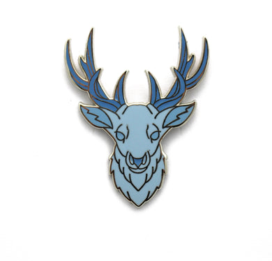 Book 3 inspired enamel pin, the Stag