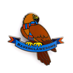 "Hogwarts House Pins  - ""Ravenclawesome"" Hard Enamel Pin"