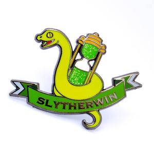 "Hogwarts House Pins -  ""Slytherwin"" Hard Enamel Pin"