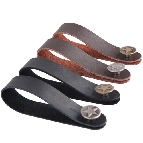 Leather Guitar Strap Holder - BeaGuitarLegend.com