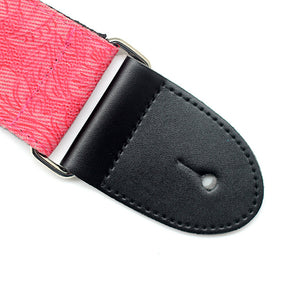 Guitar Strap 'Pink Denim'