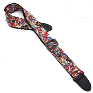 "Guitar Strap ""American Dream"" - BeaGuitarLegend.com"