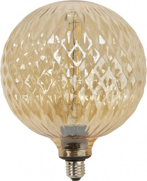 Elegance LED Globe Cristal 200mm - Gold