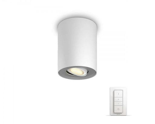 Philips Hue Pillar spotlight enkel - Vit
