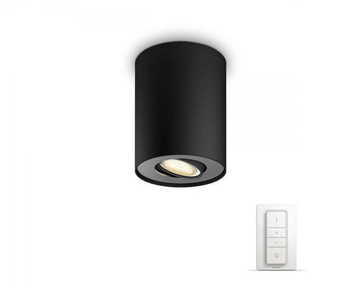 Philips Hue Pillar spotlight enkel - Svart