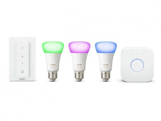 Philips Hue White and Color Startset 3 x E27 + Hub