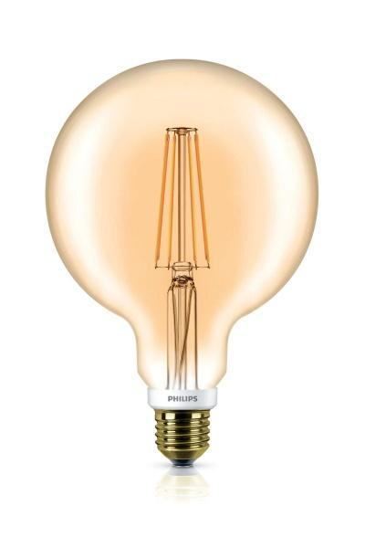 Philips 7W Globe Gold Dimbar LED filament (60W)
