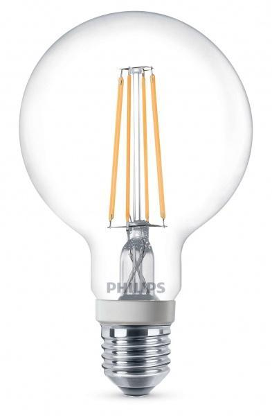Philips 7W globe dimbar LED filament (60W)
