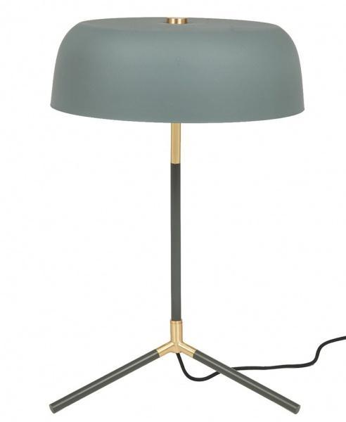 Rhett Bordslampa - Grågrön/Mässing - Bordlamper. Fra Lifestyle Home Collection