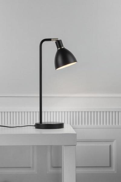 Ray Bordslampa - Svart - Bordlamper. Fra Nordlux