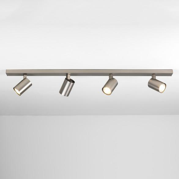 Ascoli Four Bar - Matt Nickel - Taklamper. Fra Astro Lighting