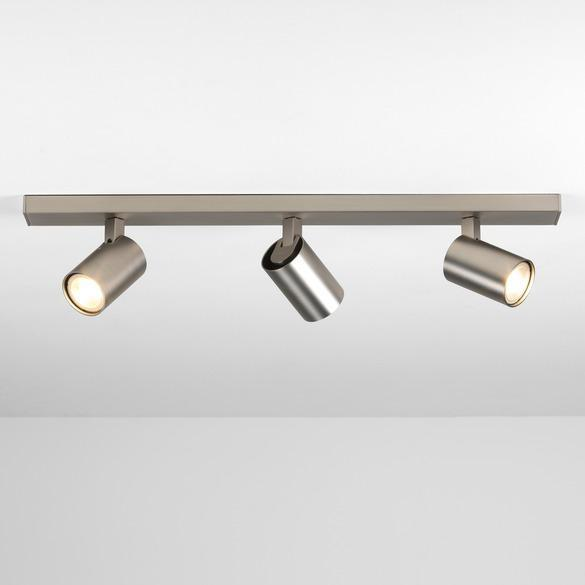 Ascoli Triple Bar - Matt Nickel - Taklamper. Fra Astro Lighting