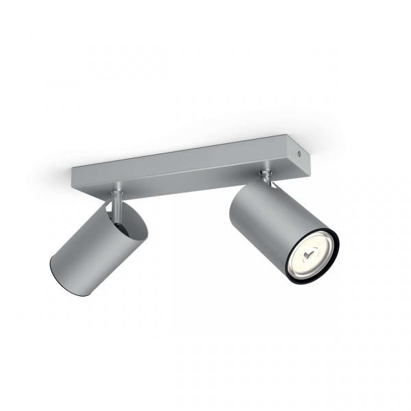 Philips myLiving Kosipo takspotlight, aluminium