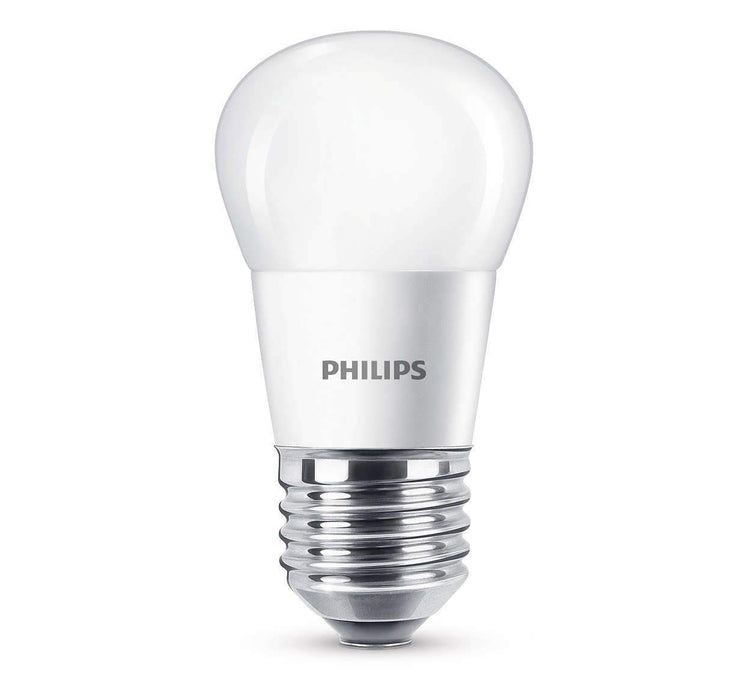 Philips LED Illum/krone  5,5 W (40 W) - LED-pære E27 sokkel. Fra Philips