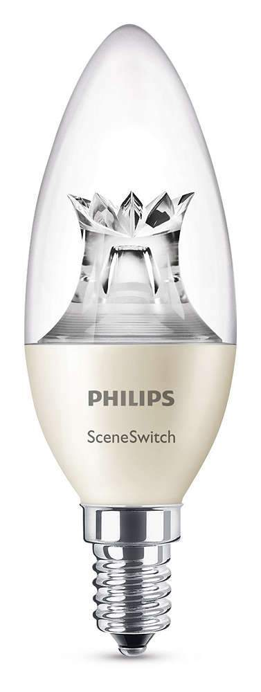 Philips SceneSwitch 5,5W LED pære, E14